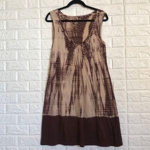 Calvin Klein Jeans tie dye stretchy summer dress